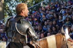 2015 Średniowieczny festiwal Przy fortu Tryon parka częścią 3 28 Zdjęcia Royalty Free