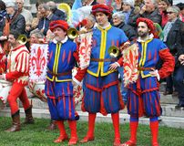 średniowieczny Florence przedstawienie Fotografia Royalty Free