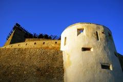 Średniowieczny forteca Deva, Hunedoara okręg administracyjny, Rumunia Obraz Stock