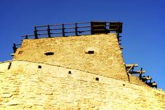 Średniowieczny forteca Deva, Hunedoara okręg administracyjny, Rumunia Zdjęcia Royalty Free