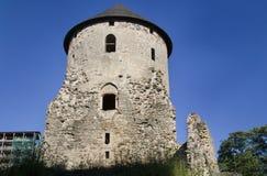 średniowieczny grodowy cesis zdjęcie stock