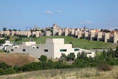 Średniowieczny grodzki Avila, Hiszpania Fotografia Stock
