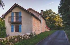 Średniowieczny grodzki Rocamadour fotografia stock