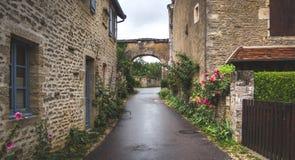 Średniowieczny grodzki Rocamadour zdjęcie royalty free