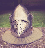 Średniowieczny hełm Fotografia Royalty Free