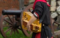 Średniowieczny instrument muzyczny zdjęcia stock