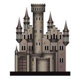 Średniowieczny kasztel Zdjęcia Royalty Free
