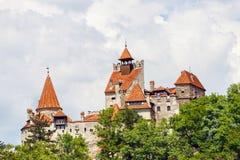 Średniowieczny kasztel otręby zdjęcia stock