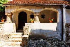 Średniowieczny kasztel otręby obrazy royalty free
