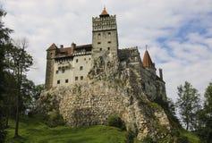 Średniowieczny kasztel otręby, znać dla mitu Dracula Brasov, fotografia royalty free