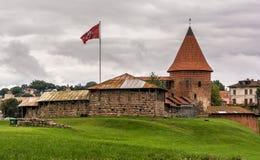 Średniowieczny Kaunas kasztel obrazy stock
