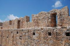 Średniowieczny krzyżowów rycerzy kasztel na Halka obrazy royalty free
