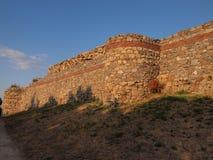 Średniowieczny Mezek forteca (Bułgaria) Obrazy Royalty Free