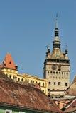 średniowieczny miasta sighisoara zdjęcie royalty free