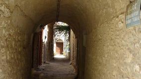 Średniowieczny miasto Mesta przy wyspą Chios Fotografia Stock