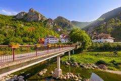 Średniowieczny monaster Dobrun w Bośnia i Herzegovina Fotografia Royalty Free