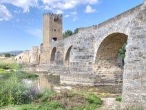 średniowieczny most obraz royalty free