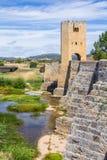 Średniowieczny most w Burgos obraz stock