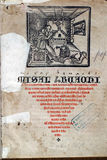 Średniowieczny mszał zdjęcia royalty free