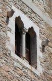 średniowieczny okno Fotografia Royalty Free