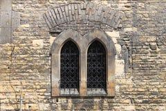 średniowieczny okno Obraz Stock