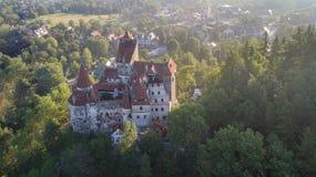 Średniowieczny otręby kasztel Brasov Transylvania, Rumunia fotografia stock