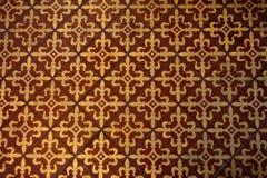 Średniowieczny płytka wzór Fotografia Royalty Free