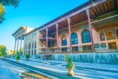 Średniowieczny pałac w Isfahan, Iran zdjęcie royalty free