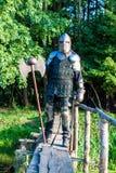 Średniowieczny rycerz obraz stock