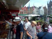 Średniowieczny sklep spożywczy Fotografia Royalty Free