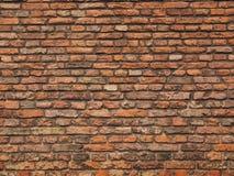 Średniowieczny szorstki ściana z cegieł Obraz Stock