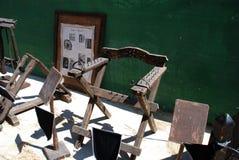 Średniowieczny tortury krzesło Fotografia Royalty Free