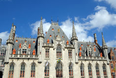Średniowieczny urzędu miasta budynek Fotografia Royalty Free