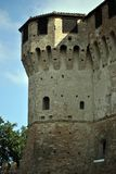 średniowieczny wieży zamku Fotografia Stock