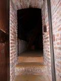 Średniowieczny wnętrze Muiderslot, Muiden kasztel w Holandia holandie zdjęcie stock