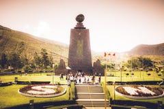 Środek Światowy zabytek w Ekwador Zdjęcia Stock