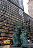 Środek miasta Manhattan, Miasto Nowy Jork, usa Fotografia Royalty Free