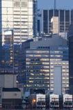 Środka miasta Manhattan budynek biurowy Zdjęcia Royalty Free