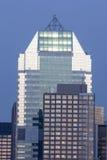 Środka miasta Manhattan drapacz chmur Obrazy Stock