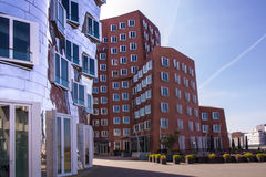 Środka schronienie Dusseldorf obraz royalty free