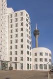 Środka schronienie Dusseldorf zdjęcia royalty free