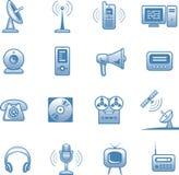 Środki - Wektorowe Ikony Ustawiają Fotografia Stock