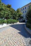 środkowa droga przemian Prague obrazy stock