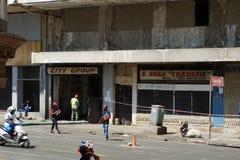 Środkowa dzielnica biznesu, Johannesburg, Południowa Afryka zdjęcie stock