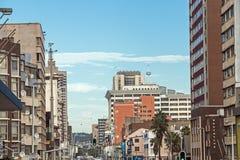 Środkowa dzielnica biznesu w Durban Południowa Afryka Fotografia Stock