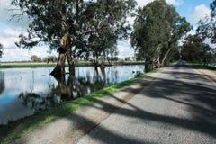 Środkowe wiktoriański powodzie Fotografia Stock
