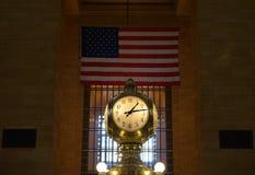 środkowego zegaru uroczysty terminal Zdjęcia Royalty Free