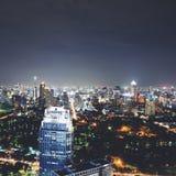 Środkowy świat sławni zakupów centra handlowe w śródmieściu Bangkok (CTW) Obraz Stock