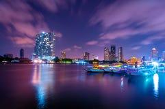 Środkowy świat sławni zakupów centra handlowe w śródmieściu Bangkok (CTW) Obraz Royalty Free