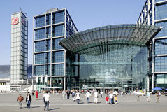 Środkowy dworzec Berlin Obraz Stock